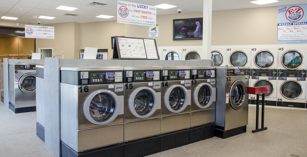 Clean & Secure Laundry Facility